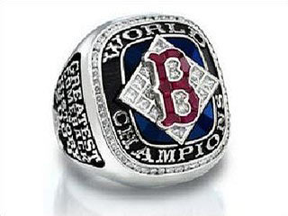 boston red sox, world series champions 2004, ring