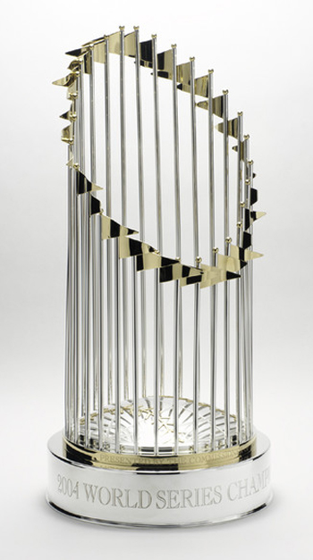 Boston Red Sox World Series Champions 2004 World Series Trophy