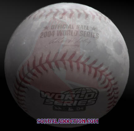 boston red sox, world series 2004, world champions, moon